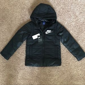 Nike Hooded Jacket Girls size S